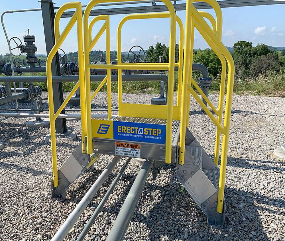 ErectaStep Crossover Metal Stairs